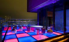 A cool rooftop bar - Sugar @ East Hong Kong