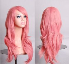 Hatsune Miku Anime Wig Synthetic Hair Long Curly Wave Cosplay Wig Pink peluca Cosplay Perruque peruca femininas-in Cosplay Wigs from Beauty & Health on Aliexpress.com | Alibaba Group