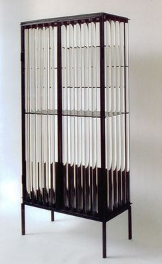 High Rods Cabinet designed by Christophe Come. Just saw this piece in person at his gallery opening in Soho - 11.08.12