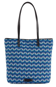 Day Tote in Bayou Waves (inspired by Blue Bayou!), $58 | Vera Bradley