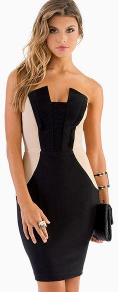 Piece Out Bodycon Dress - Lyst 2014 Fashion Trends e1e301522