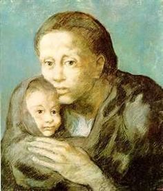 """Pablo Picasso: """"Mother and Sick Child"""" 1923"""