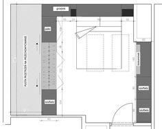 Sypialnia styl Nowoczesny - zdjęcie od WNĘTRZNOŚCI Projektowanie wnętrz i mebli…