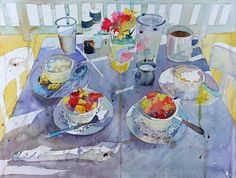 ARThouse Studio School: Ten tips for painting loosely in watercolor