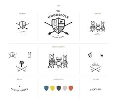 Beautiful brand work from Stitch Design Co for great new Melbourne shop - The Woodsfolk http://thewoodsfolk.com.au/