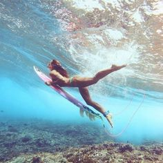 :: Ride the Waves :: Free Spirit :: Gypsy Soul :: Eco Warrior :: Girls :: Seek Adventure :: Summer Vibes :: Surfboard Design + Style :: Free your Wild :: See more Untamed Surfing Inspiration Summer Sky, Summer Vibes, Photo Surf, Surfing Pictures, Foto Instagram, Mo S, Surf Girls, Strand, Underwater