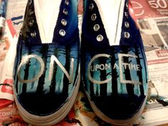 Once Upon A Time Shoes by SatansSlippers on Etsy, £30.00