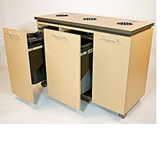 Facilities Management Ceilings, Furniture & Walls: Recycling Cabinet - Building-Components and Services Releases