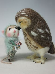 Needle Felting / Needle Felted Creations By Barby Anderson: January 2012