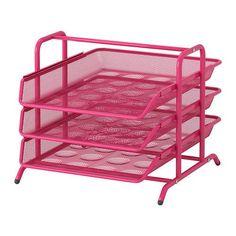 Ikea Dokument File Desk Organizer Pink Trays Steel ikea http://smile.amazon.com/dp/B00865FG1E/ref=cm_sw_r_pi_dp_-eqQtb08W31DMB49