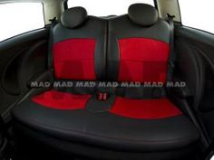 ALCANTARA® red + LEATHER LOOK anthrazit Maserati, Porsche, Bmw, Red Leather, Baby Car Seats, Children, Collection, Automobile, Young Children