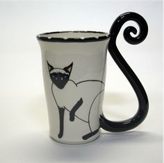 These Cat-Tail Mugs Have Perfect Feline Form   Catster