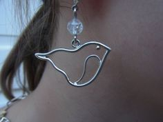 """Ohrhänger """"Birdy"""" von GoldschmiedeNorwinVitten auf DaWanda.com"""