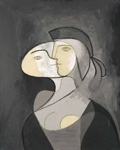 Pablo Picasso, Marie-Thérèse, Face and Profile, 1931 on ArtStack #pablo-picasso #art