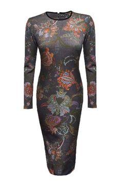 Single Bodycon Dress - a stunner for the holiday season!
