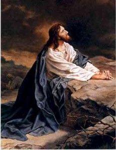 Jesus in Gethsemane! God and Jesus Christ Images Du Christ, Images Bible, Pictures Of Jesus Christ, Religious Pictures, Bible Pictures, Religious Art, Jesus Our Savior, Jesus Art, Jesus Is Lord