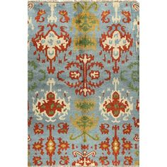 Add a pop of exotic design decadence to your living room or bedroom with the Dumai Rug. #jossandmain