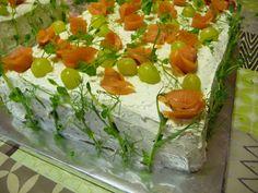KeittiöKriitikko: Voileipäkakku 50 hengelle (kala ja kinkku) Sandwich Cake, Sandwiches, Kala, Tacos, Appetizers, Mexican, Vegetables, Ethnic Recipes, Iso