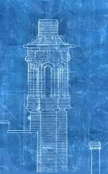 Details of Glasgow Herald towers from architect's blueprints and modern drawing Architectural Features, Architectural Drawings, Modern Drawing, Charles Rennie Mackintosh, Drawing Sketches, Sketching, Designs To Draw, Glasgow, Art Nouveau