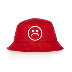 Sad boys DopePremium Vintage Very Rare red bucket hat  3 Red Bucket Hat 9f1a58e099a0