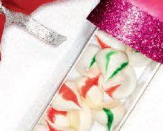 Peppermint Meringue Kisses Peppermint Meringues, Meringue Kisses, Holiday 2014, Recipe Details, Sweets, Magazine, Holidays, Drink, Desserts