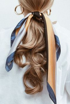 Hair Hair The post Hair appeared first on Geflochtene Frisuren. Makeup Trends, Beauty Trends, Hair Trends, Retro Hairstyles, Scarf Hairstyles, Daily Hairstyles, Summer Hairstyles, Braided Hairstyles, Teenage Hairstyles