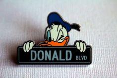 Donald Street Sign