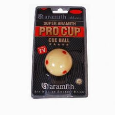 Bille blanche Pro-Cup Aramith 57mm - 25,00 €  #Jeux