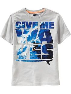 Boys Surf Graphic Tees