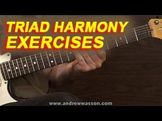 I demonstrate major key harmonies built from both 3rd and 4th strings. And, I put the information to use by showing a couple of example riffs generated from the lessons harmonies.