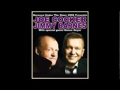 """▶ Joe Cocker & Jimmy Barnes - """"Guilty"""" (1994) --- What can I say but…"""