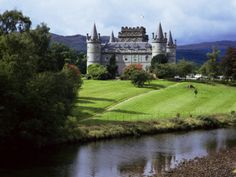 Inveraray Castle, Argyll, Highland Region, Scotland, United Kingdom Photographic Print
