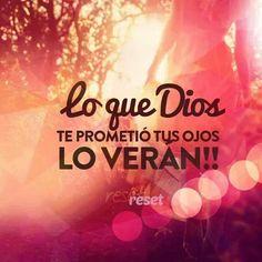 Lo que Dios promete siempre lo cumple. .. siempre