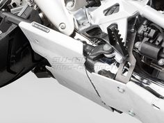 Engine Guard Extension Centerstand. Silver. BMW R 1200 GS (13-)., Item No.: mss.07.781.10300__s