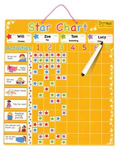 Doowell Large Family Star Chart