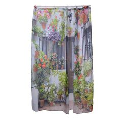 Waterproof & Mildewproof Polyester Shower Curtain Nautical Anchor / Greenery Trees / Spanish House Bathroom Decor With Hooks Types Of Mold, Floral Tie, Mold Removal, Hooks, Shower, Rain Shower Heads, Showers, Wall Hooks, Crocheting