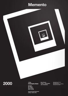 Memento Film Poster by A.N.D Studio