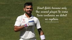Virat Kohli Become the 2nd Player with 2 Centuries in his Debut Match #IndvsAus #viratkohli