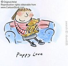 Puppy Love. by Brooks, Rosie