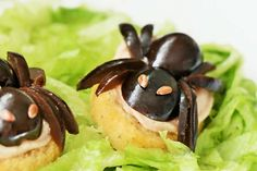 Vorreste mangiare un paio di... ragni?:)  Il tutorial vi aspetta su www.partymamma.net