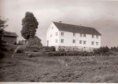 Oppstaua på Ljøstad, ca midt på 1950-tallet  (192) Photos of Etterkommere etter Hans Henrik Harbo Colbjørnsen og hustru Marte