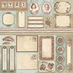 Romantic Melody - Dodatki » Papiery do scrapbookingu » LEMONADE Scrapbooking, cardmaking, papercrafts
