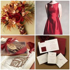 These are cute ideas. That's the color I want my bridesmaids dresses...but not the style