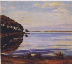 View at Mimizan 1920 Winston Churchill