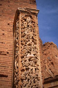Carved column, Basilica of Leptis Magna