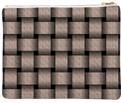 img  Cocoa Basket Weave Neoprene Clutch By mae-glenn $72.00  With its creamy cocoa color and classic pattern, this digital design makes a stylish statement. The basket weave pattern is made of ribbons with a subtle, wavy texture, giving them the look and sheen of fine fabric.