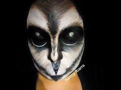 Maquillaje de búho/lechuza   Nancy Ibarra - YouTube