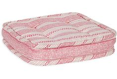 MLB Eros Stripe Cushion, Tourmaline on OneKingsLane.com