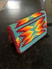 Native American Beaded Wallet Purse Card Holder