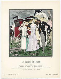 855789abc5 Afternoon Dress   Girl s Dress Jeanne Lanvin 1922 Gazette du Bon Ton MFA